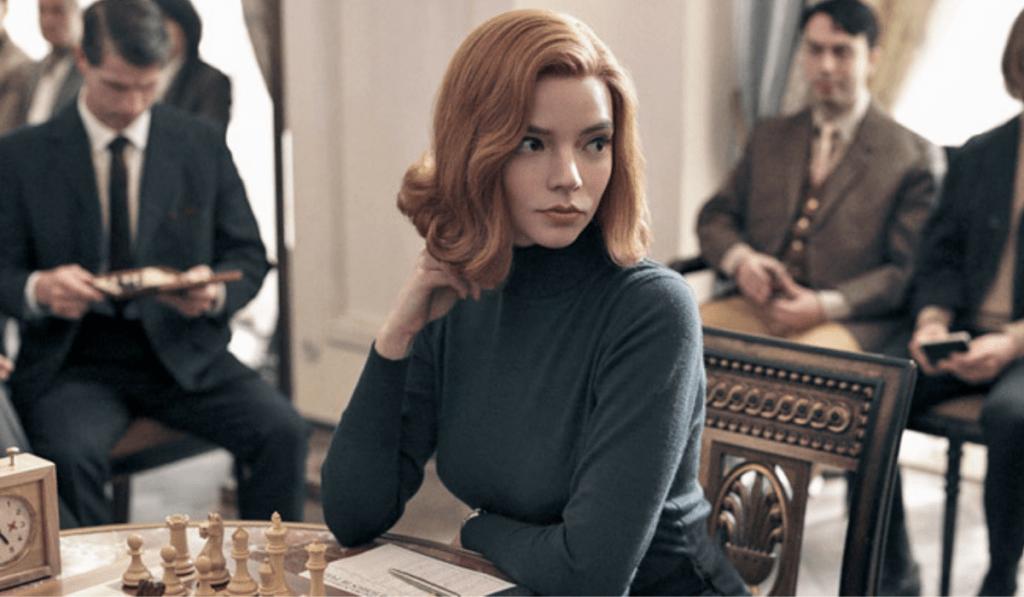 Beth Harmon in The Queen's Gambit. Credits: Netflix
